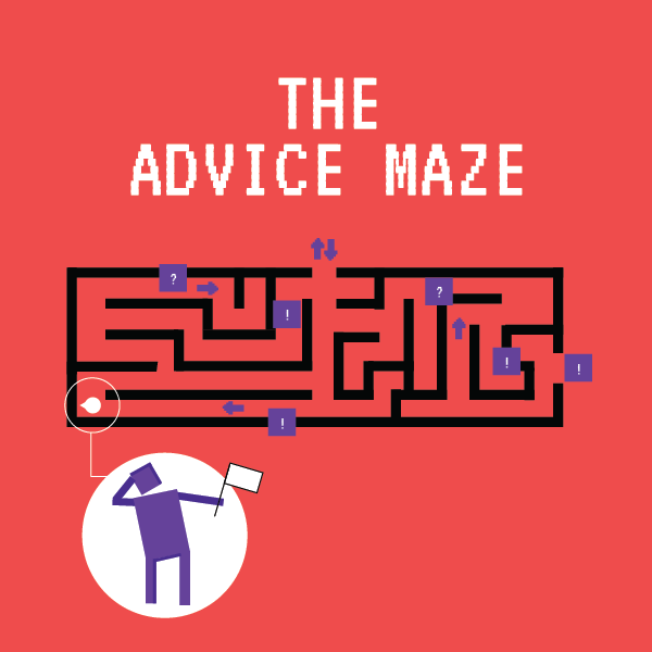 The advice maze